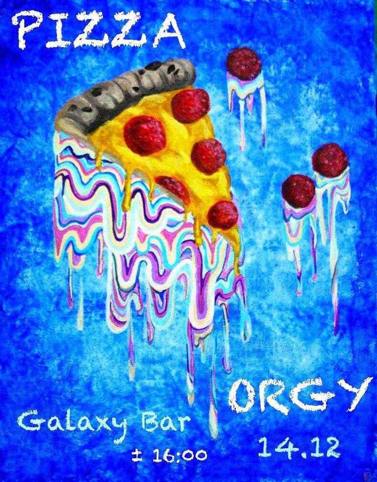 O.G.Pizza в Galaxy bar! 14 декабря!